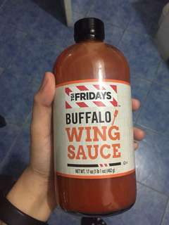 [Pre-order] TGIFriday's Buffalo Wings Sauce