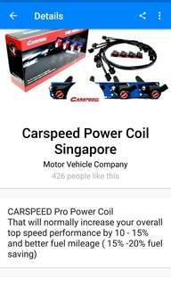 Carspeed Ignitioncoils and ballast wires