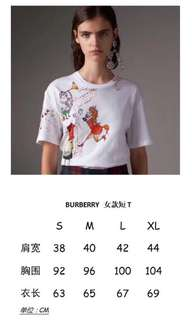 Burberry 情侶T