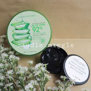 Share in jar 50gr nature republic shooting&moisture aloevera 92%