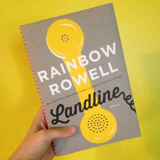 Landline (hardcover) by Rainbow Rowell (used only once)