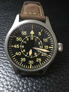 Steinhart Pilot watch Titanium 47MM皮帶(not Seiko)