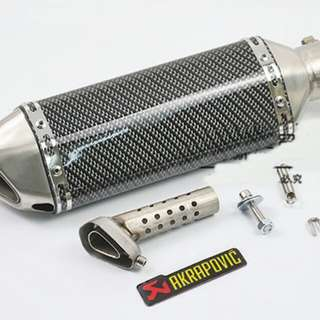 Akrapovic Muffler Exhaust Motorcycle
