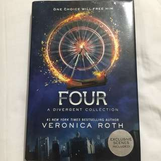Four by Veronica Roth (Hardbound)