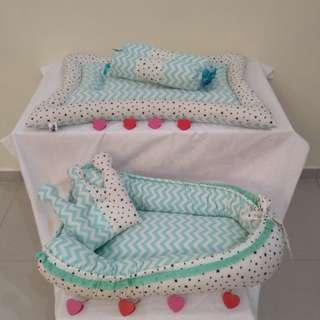 Combo Set Newborn Bedding