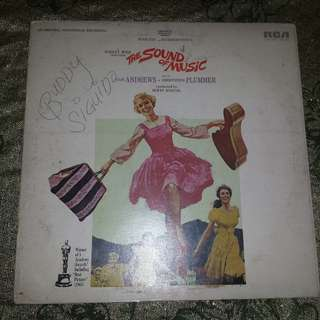 """The Sound Of Music"" Vinyl Record"