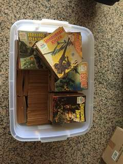 1970s war comics too many to list  350-400 comics