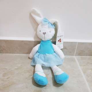 BNIP bunny soft toy ballet plush toy rabbit