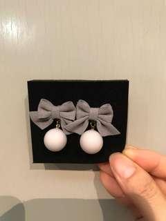 Earrings - ribbon 蝴蝶結耳環