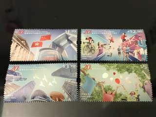 🇭🇰香港回歸20周年郵票