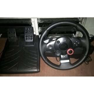 Logitech Driving Force GT (Streering wheel)