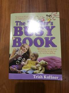 The Toddler's Busy Book for 1-3yo
