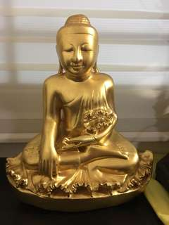 Buddha made by solid jade