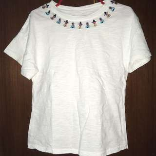 KOREAN EMBROIDERED TOP