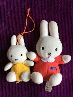 Miffy 公仔, 一大一小,共兩隻