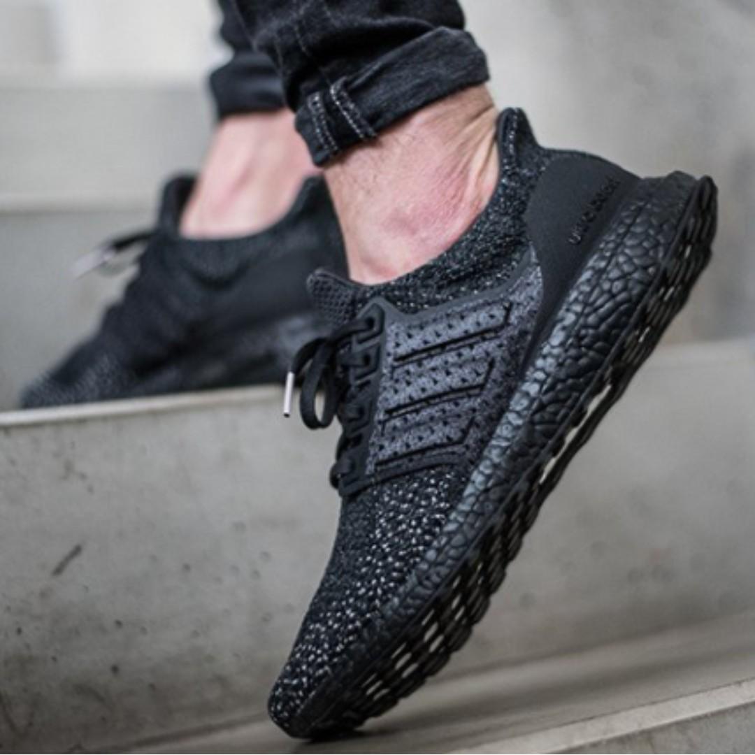 adidas ultra impulso clima triple black, moda maschile, calzature in