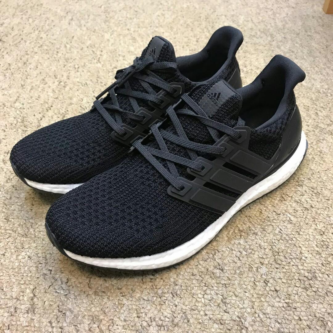 sports shoes 3c8e7 bfcb2 Adidas Ultraboost 4.0 Core Black, Men's Fashion, Footwear on ...