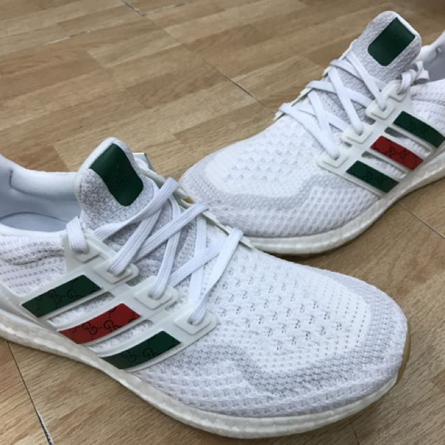 b686ab1f5 Adidas Ultraboost x Gucci 'White' on Carousell