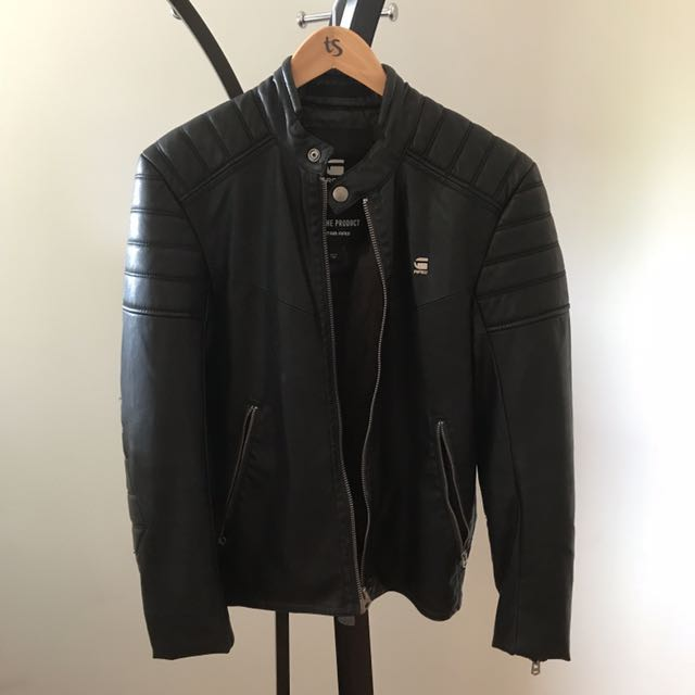 Authentic G-Star Raw Leather Jacket