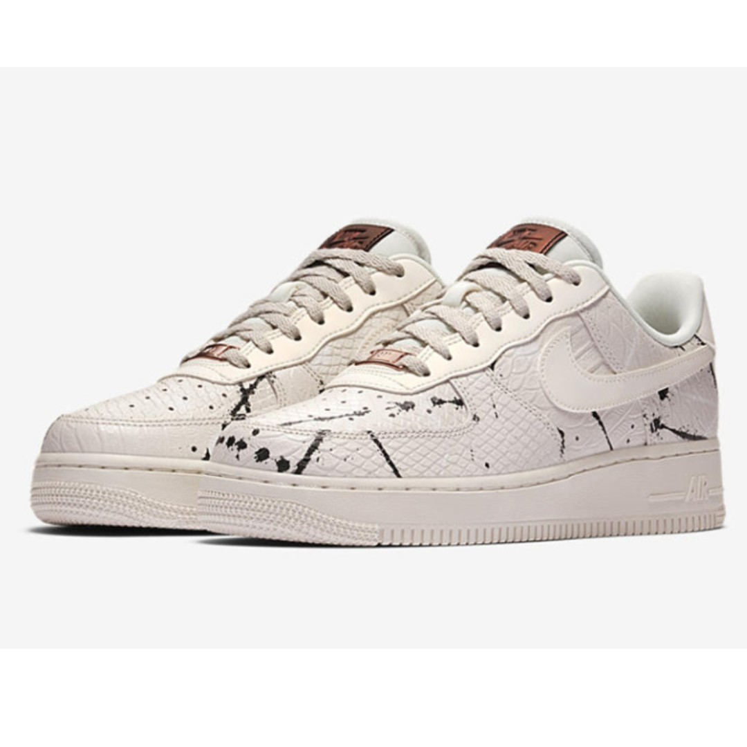 nike air force 1 '07 lx zwart