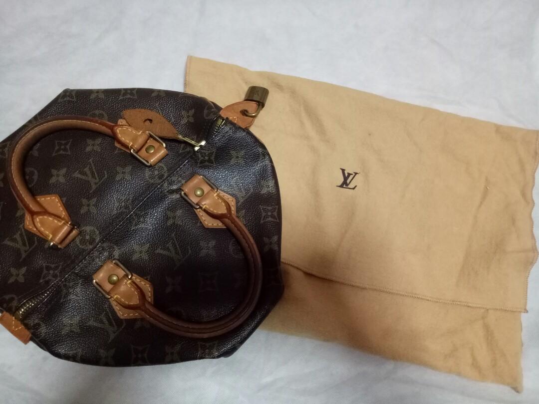 e7616b8b9389 Authentic Preloved Louis Vuitton Malletier Monogram Speedy 25 ...