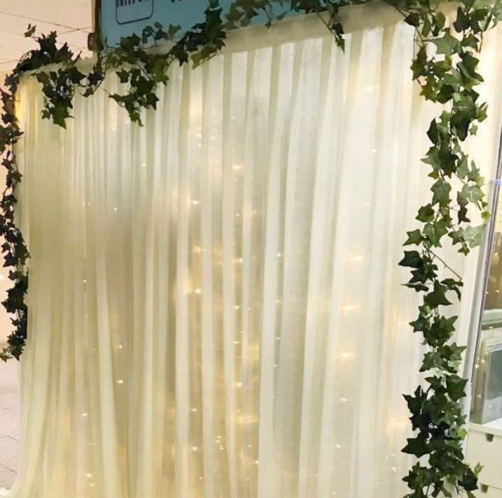 Backdrop / photo booth DIY