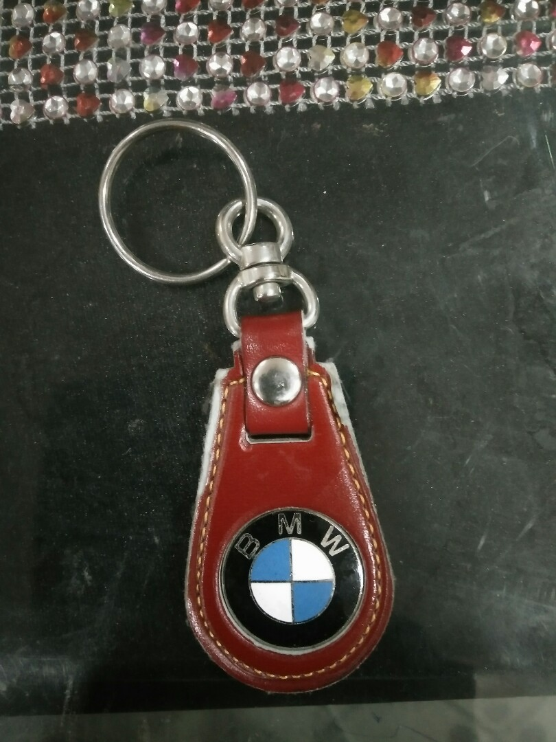 Bmw Keychain Red Car Accessories On Carousell