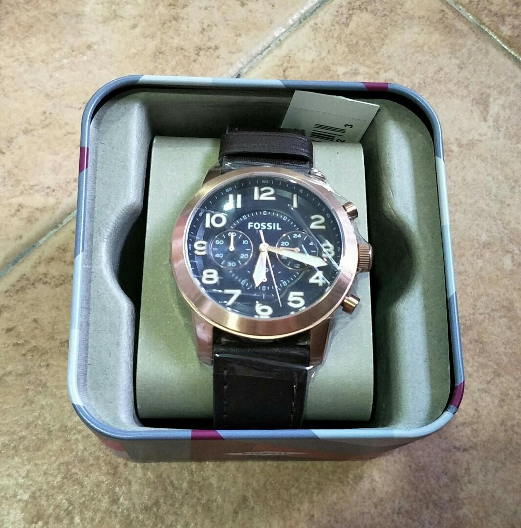 Brand New Fossil FS5204 Pilot 54 Watch