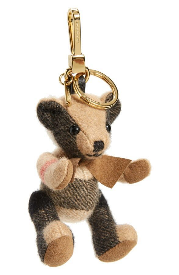 Burberry bear charm