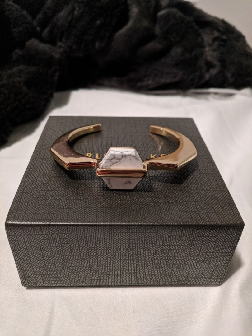 Charles & Keith Marble/Gold Cuff