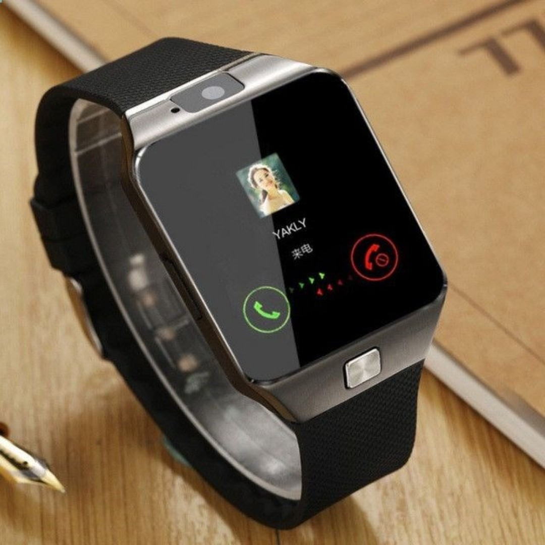 87b49ee44c6 DZ09 Smart Watch for IOS Android Phones (Comes with In-built camera ...