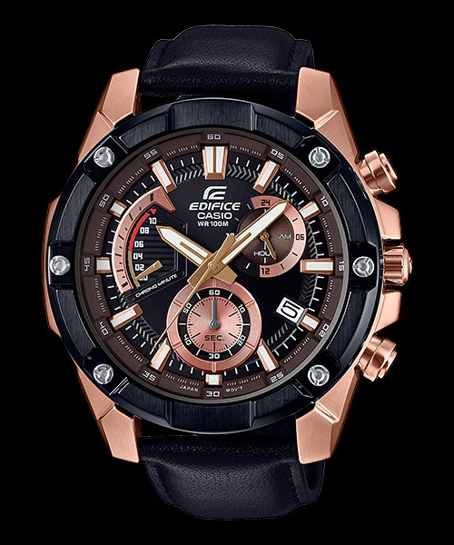 Edifice Rose Gold Watch 9d8747cae810