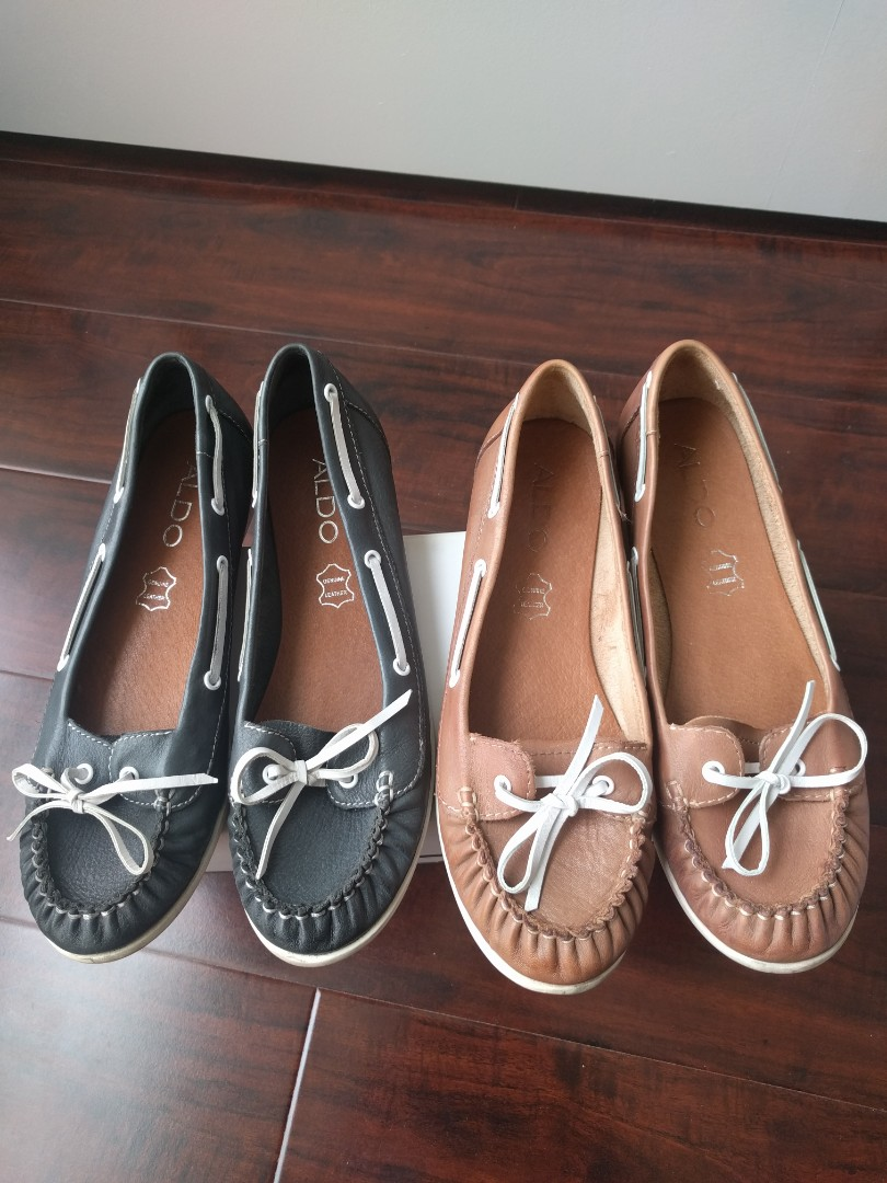 EUC Leather Aldo Shoes Size 37 - 6.5