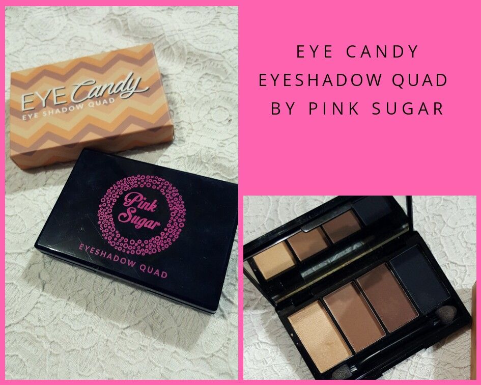 Eye Candy Eyeshadow Quad By Pink Sugar Tiramisu Health Beauty