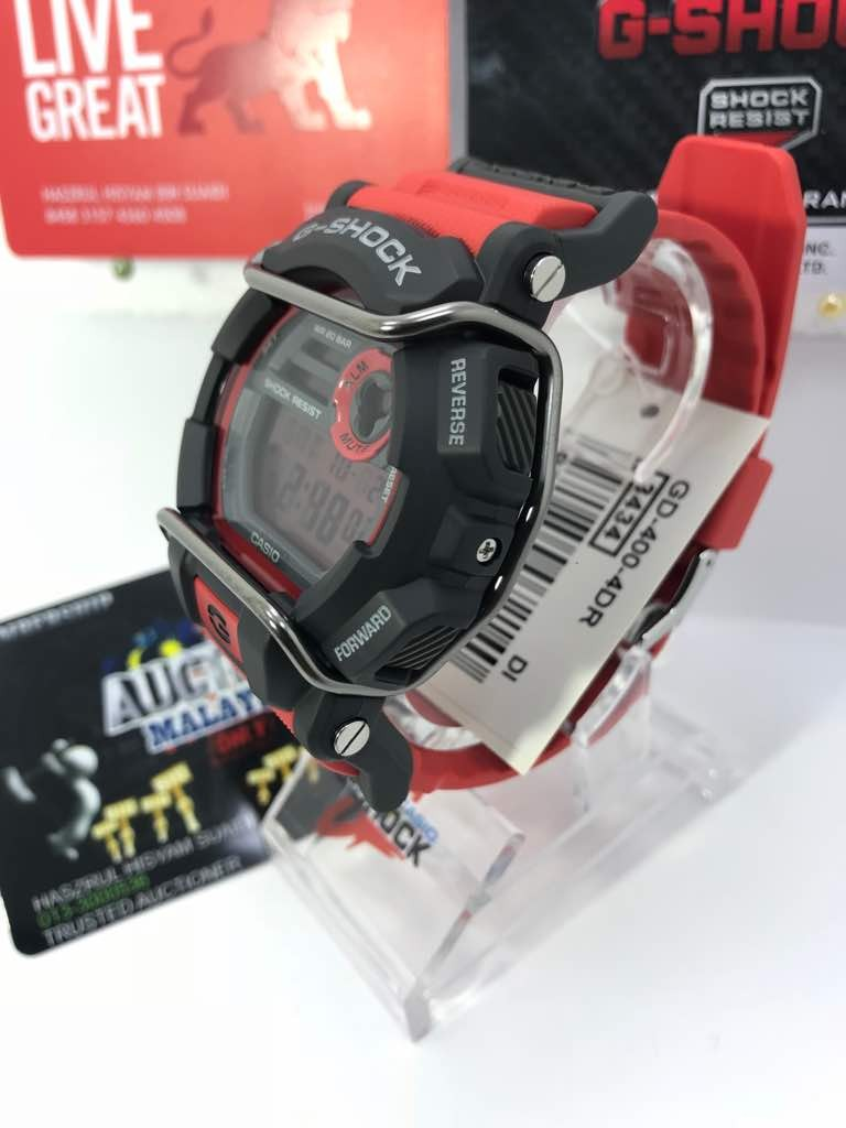 Gshock Gd 400 4dr Mens Fashion Watches On Carousell Casio Jam Tangan Original