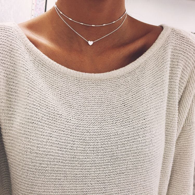 Heart Layer Necklace