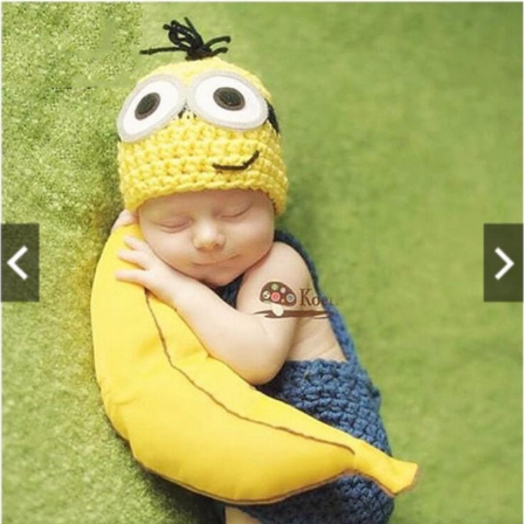 1ea52bc734b Instocks) Newborn Baby Girls Boys Crochet Knit Costume Photo ...