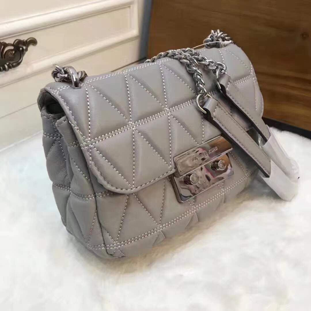 c81d93fcc4f3 MIchael Kors Sloan Small Quilted-Leather Shoulder bag PO