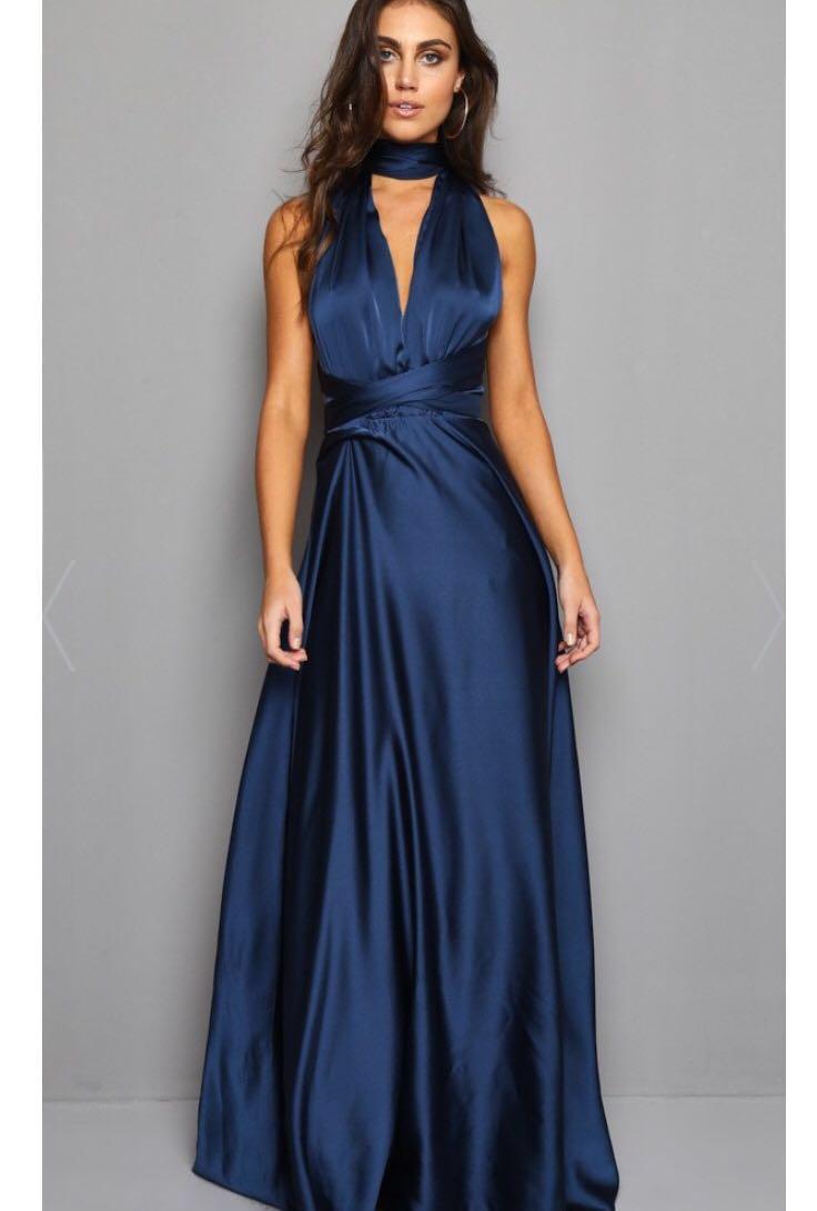 Moon Dance Maxi Dress - Navy