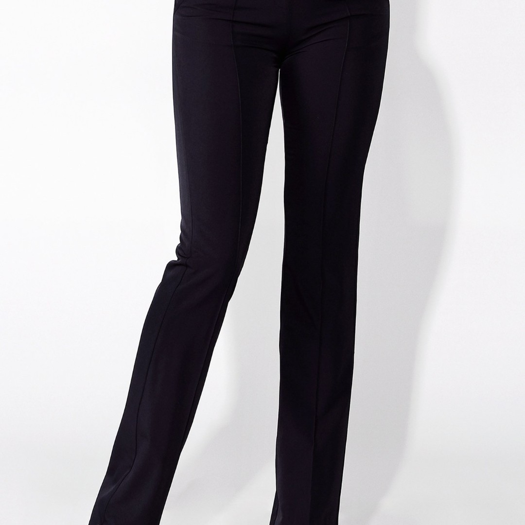 NAVY MODERN HIGH WAISTED TROUSER