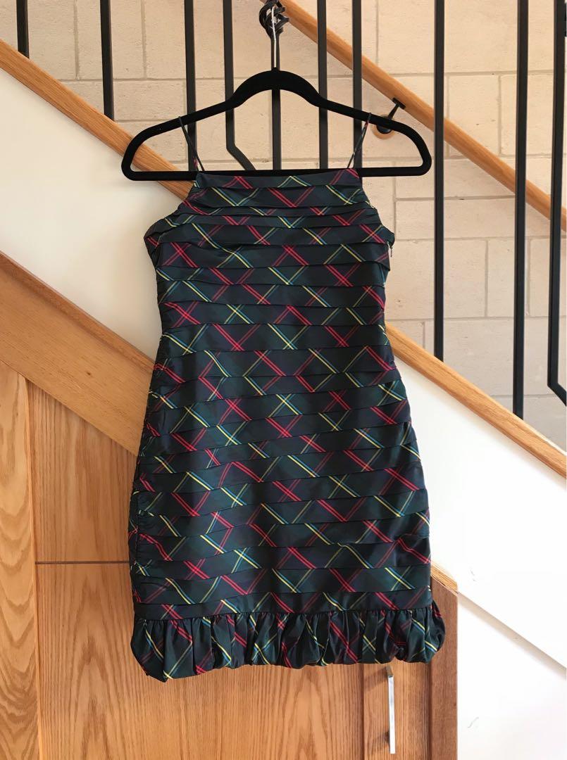 Ralph Lauren 100% silk dress size8 with tag