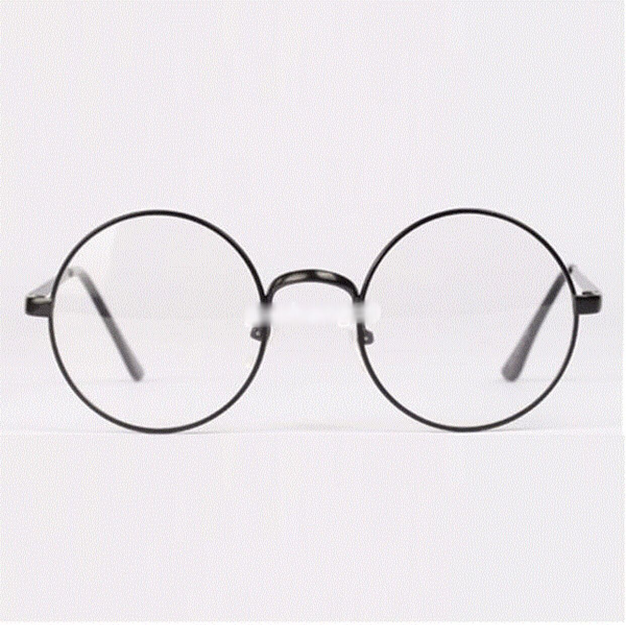 Retro Round Metal Frame Glasses, Women\'s Fashion, Accessories on ...