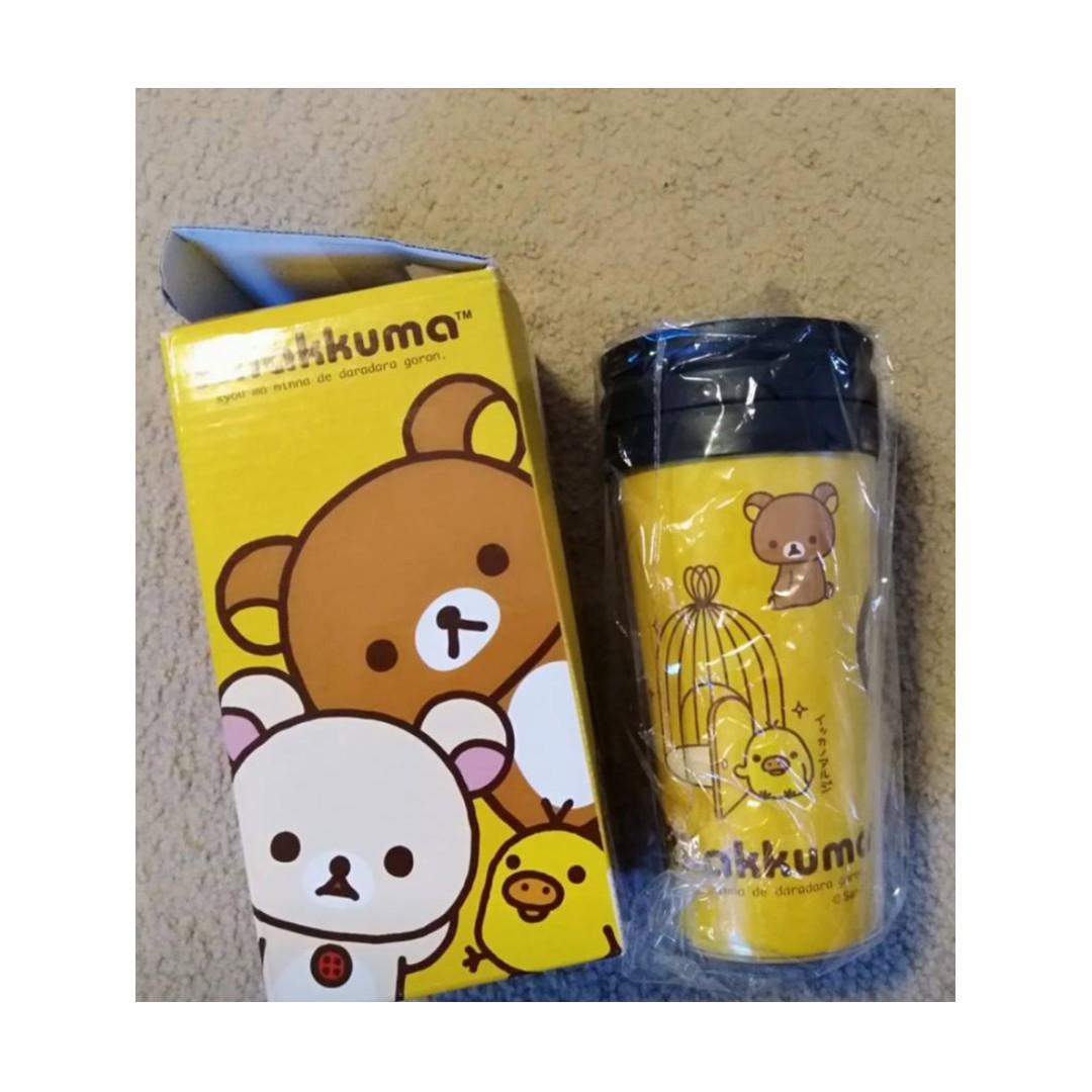 Rilakkuma and Kiiroitori Travel mug