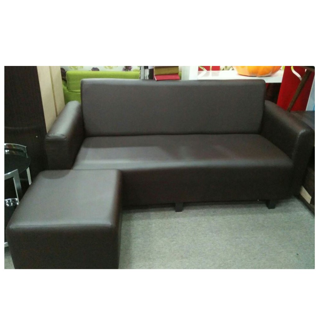 Sofa L Shape Murah Sl0002 Home Furniture Others On Carousell