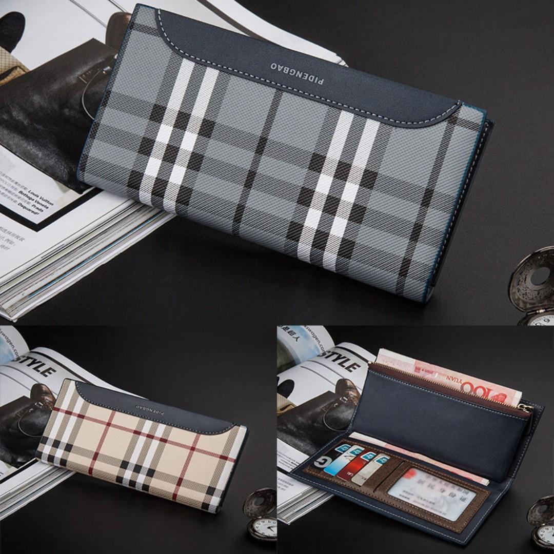 Style Dompet Panjang Pria Terbaru Kotak Kapasitas Besar Kulit Levis Sintetis Sintesis Mens Fashion Bags Wallets On Carousell