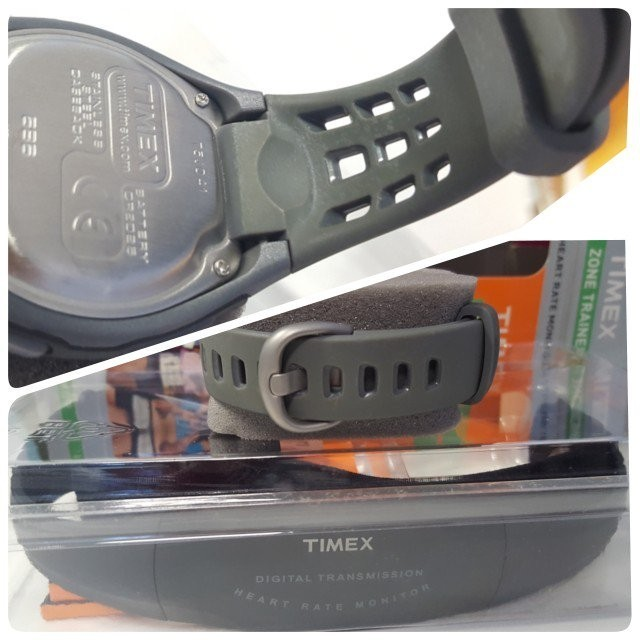 TIMEX Zone Trainer (Wrist Watch) / Heart Rate Monitor (Chest Strap) /  Fitness