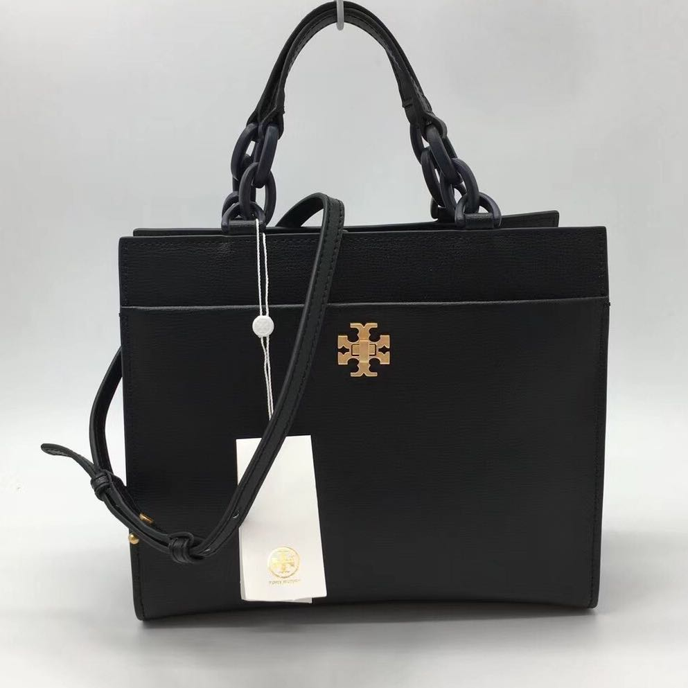 Tory Burch Kira Small Tote Black Barangan Mewah Beg Dan Dompet York Authentic Di Carousell