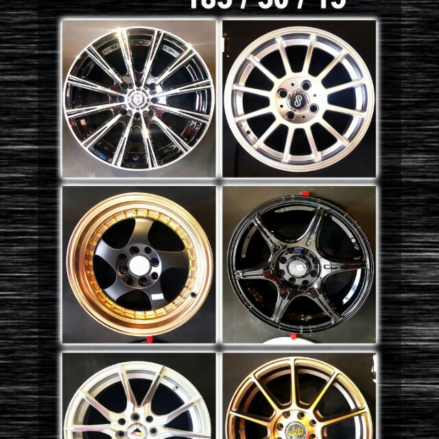 Velg Mobil All Models Dp Mulai 0 Auto Accessories On Carousell