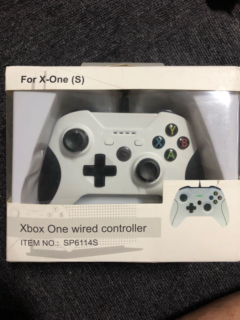 Xbox One Wired Controller, Toys & Games, Video Gaming, Gaming ...