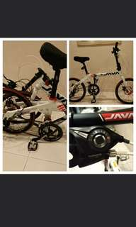 Foldable Bicycle JAVA FIT 16 speeds